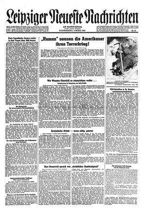 Leipziger neueste Nachrichten und Handelszeitung  vom 03.03.1945