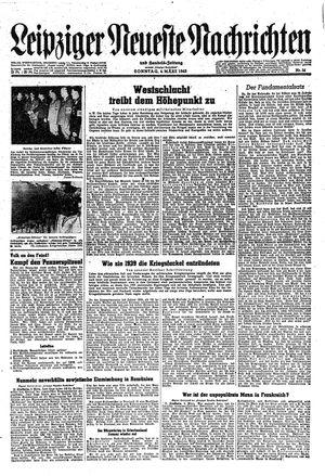 Leipziger neueste Nachrichten und Handelszeitung  vom 04.03.1945