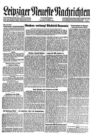 Leipziger neueste Nachrichten und Handelszeitung  vom 09.03.1945