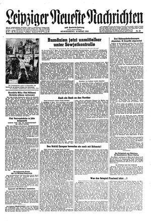Leipziger neueste Nachrichten und Handelszeitung  vom 10.03.1945