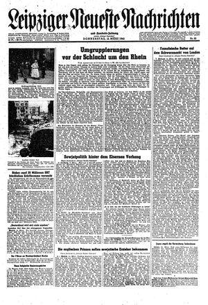 Leipziger neueste Nachrichten und Handelszeitung  vom 15.03.1945