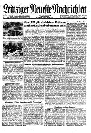 Leipziger neueste Nachrichten und Handelszeitung  vom 17.03.1945