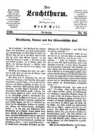 ˜Derœ Leuchtthurm on Oct 20, 1849