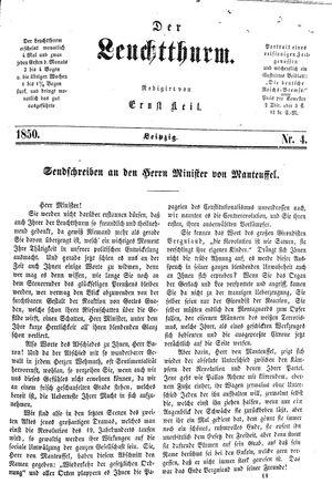 ˜Derœ Leuchtthurm vom 26.01.1850
