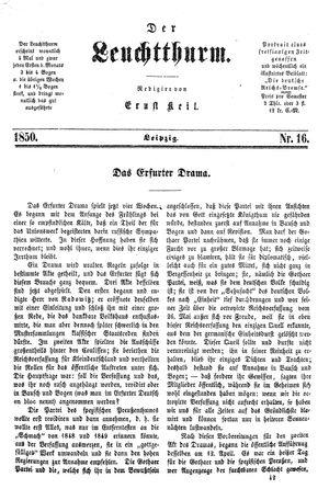 ˜Derœ Leuchtthurm vom 27.04.1850