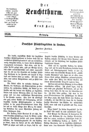 ˜Derœ Leuchtthurm on Jul 20, 1850