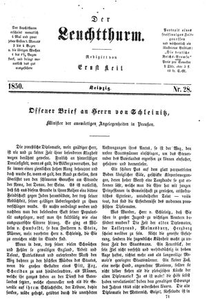 ˜Derœ Leuchtthurm on Jul 27, 1850