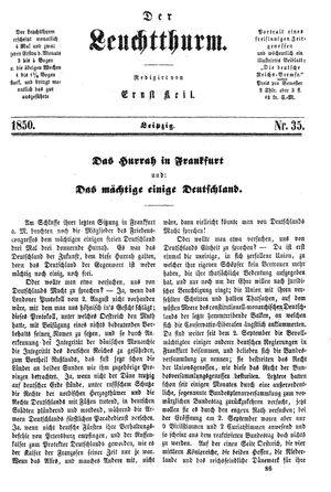 ˜Derœ Leuchtthurm vom 14.09.1850