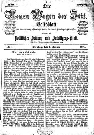 Neue Wogen der Zeit vom 04.01.1870