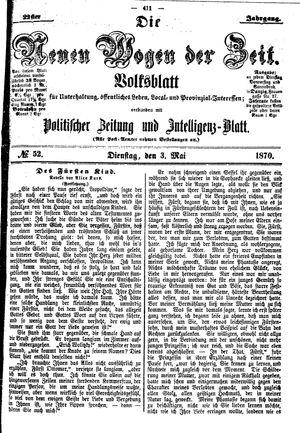 Neue Wogen der Zeit vom 03.05.1870