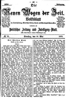Neue Wogen der Zeit vom 10.05.1870