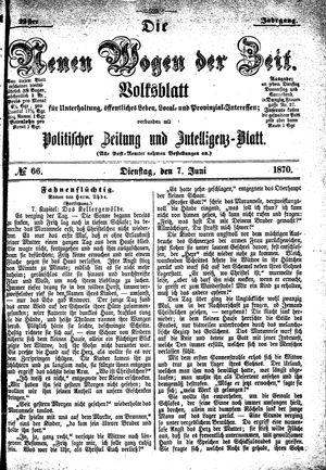 Neue Wogen der Zeit on Jun 7, 1870