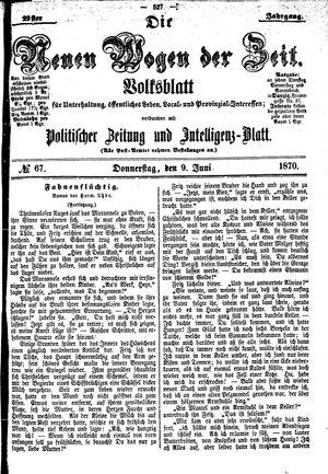 Neue Wogen der Zeit on Jun 9, 1870