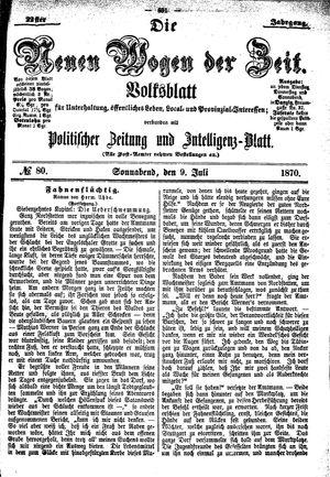 Neue Wogen der Zeit on Jul 9, 1870