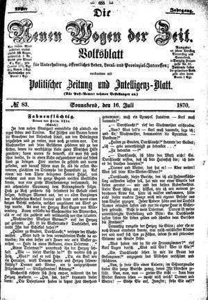 Neue Wogen der Zeit on Jul 16, 1870