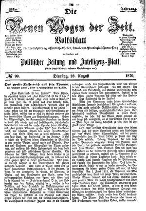 Neue Wogen der Zeit on Aug 23, 1870