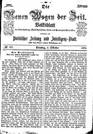Neue Wogen der Zeit vom 04.10.1870
