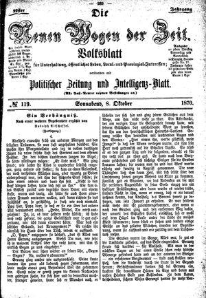 Neue Wogen der Zeit vom 08.10.1870