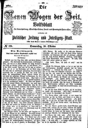 Neue Wogen der Zeit vom 20.10.1870