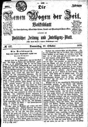 Neue Wogen der Zeit vom 27.10.1870