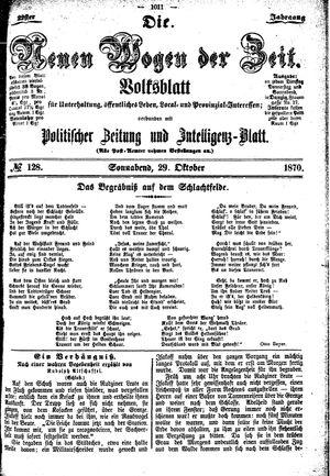 Neue Wogen der Zeit vom 29.10.1870