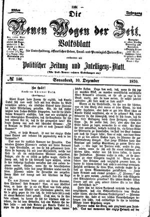 Neue Wogen der Zeit on Dec 10, 1870