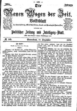 Neue Wogen der Zeit on Dec 17, 1870