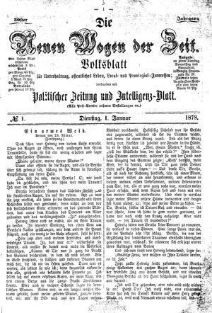Neue Wogen der Zeit vom 01.01.1878