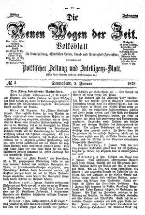 Neue Wogen der Zeit vom 05.01.1878