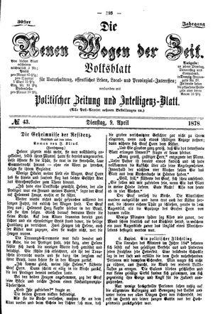 Neue Wogen der Zeit vom 09.04.1878