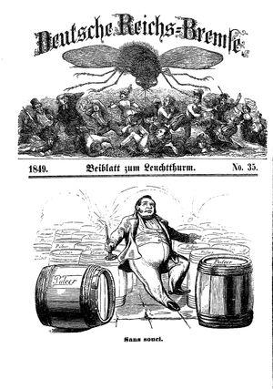 Deutsche Reichs-Bremse vom 09.11.1849