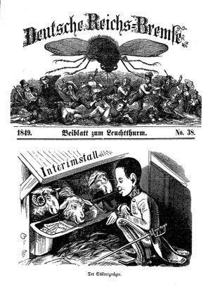 Deutsche Reichs-Bremse vom 01.12.1849