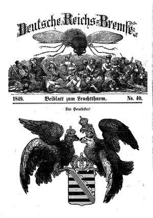 Deutsche Reichs-Bremse vom 15.12.1849