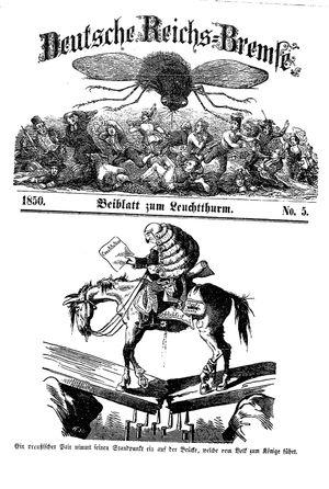 Deutsche Reichs-Bremse vom 02.02.1850