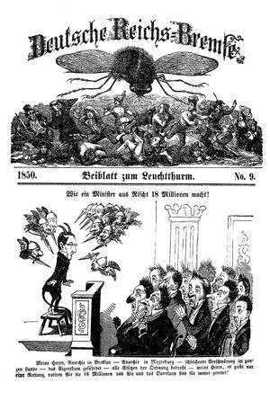 Deutsche Reichs-Bremse vom 02.03.1850