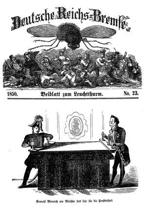 Deutsche Reichs-Bremse vom 22.06.1850