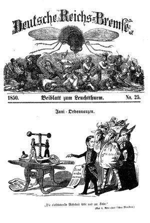 Deutsche Reichs-Bremse vom 06.07.1850