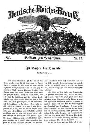 Deutsche Reichs-Bremse on Jul 20, 1850