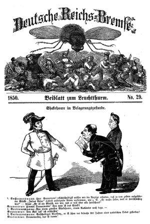Deutsche Reichs-Bremse vom 03.08.1850