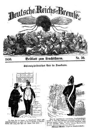 Deutsche Reichs-Bremse vom 10.08.1850