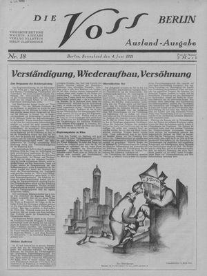 ˜Dieœ Voss vom 04.06.1921