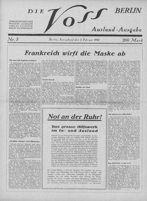 ˜Dieœ Voss on Feb 3, 1923