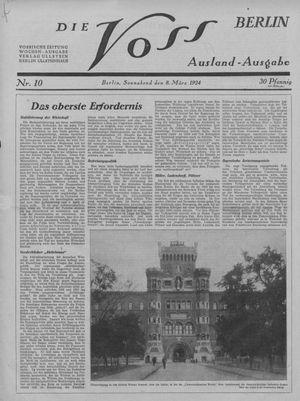 ˜Dieœ Voss vom 08.03.1924