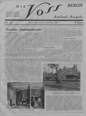 ˜Dieœ Voss on Mar 22, 1924