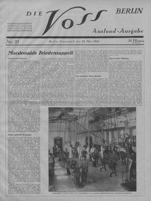 ˜Dieœ Voss vom 24.05.1924