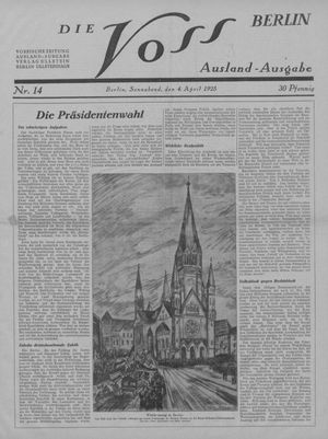 ˜Dieœ Voss on Apr 4, 1925