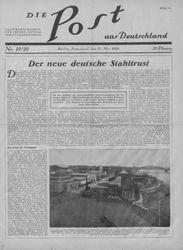 Die Post aus Deutschland