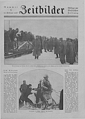 Zeitbilder vom 10.02.1918