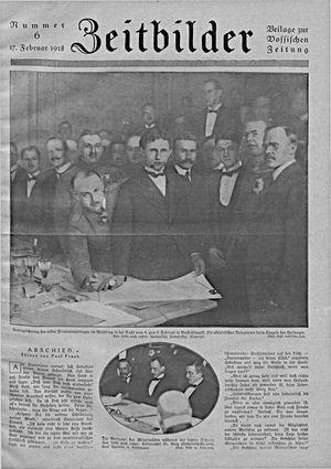Zeitbilder vom 17.02.1918
