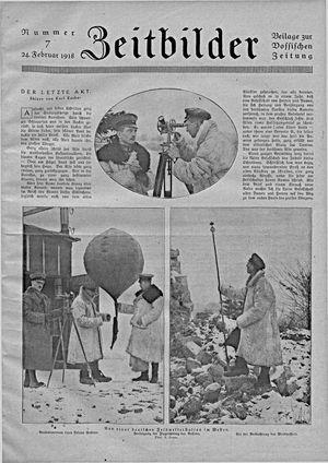 Zeitbilder vom 24.02.1918